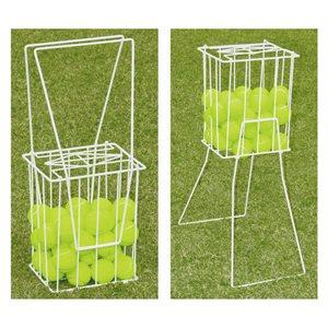 Tennis ball basket