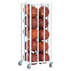 Vertical ball cage, cap.20 balls