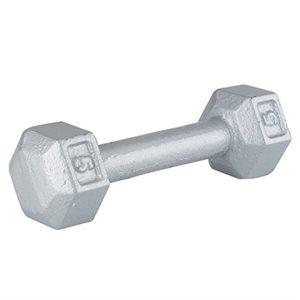 Steel hex dumbbell