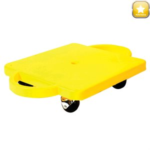 Scooter board w / handles, round castors