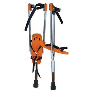 Actoy stilts, young adult