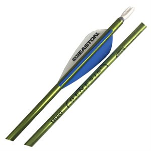 12 full length arrows, vanes