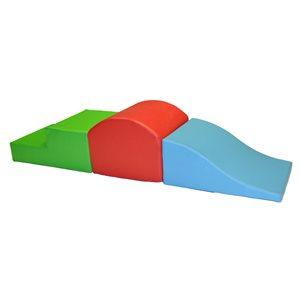 Foam module set, 3 pieces