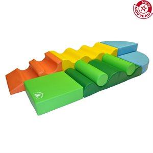 Foam module set, 8 pieces