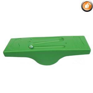 Molded plastic balance board