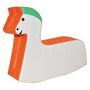 Rocking foam horse