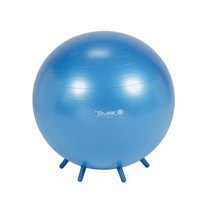 Balance ball with stability legs