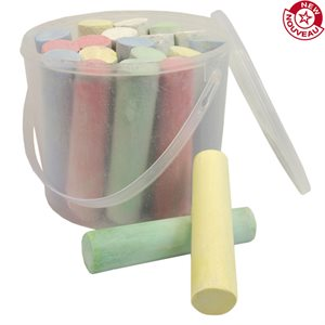 Sidewalk chalks, set of 20