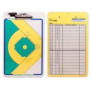 Coaches clipboard, baseball / softball