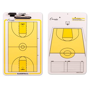 Coaches clipboard, basketball