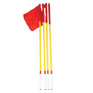 4 corner flags