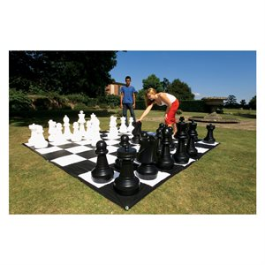Medium sized chess set