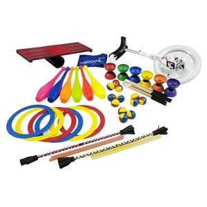 Set of 35 circus items
