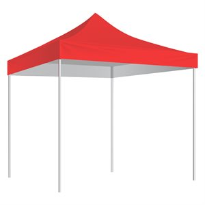 10'x10' shelter, red