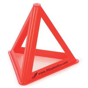 Triangular training cone