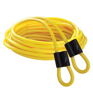 Double Dutch speed rope