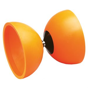 "Rubber diabolo 4"", with booklet"