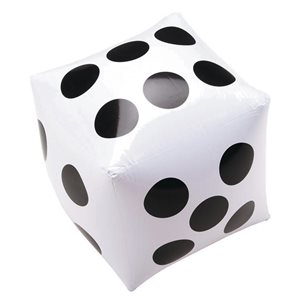 Giant inflatable dice