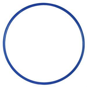 Flat hoop, blue