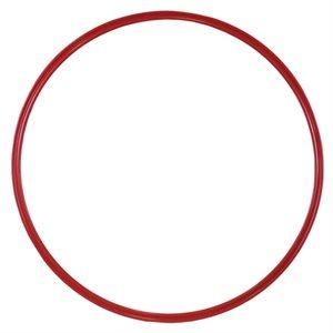 Flat hoop, red