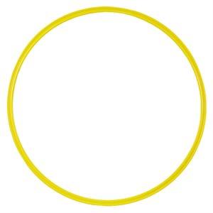 Flat hoop, yellow
