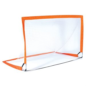 "Pair of rectangular pop-up goals, 48"" x 72"""