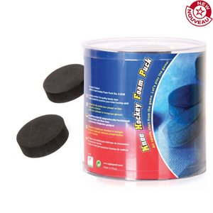 30 mini hockey foam pucks