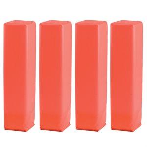 4 end zone pylon markers