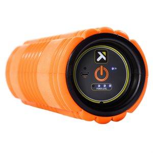 "GRID vibrantion foam roller, 12"", orange"