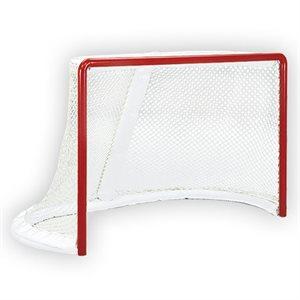 Pair of hockey pro goals, 4'x6'x44'