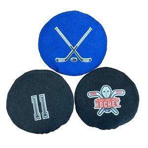 Handsack and Hockey Sack