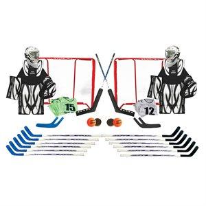 Set of 36 hockey items, youth size