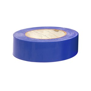 "Heavy vinyl tape, 1 ½"" x 180', blue"