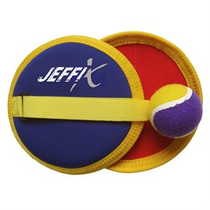Velcro throw and catch game set
