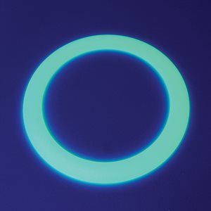 Phosphorescent juggling ring
