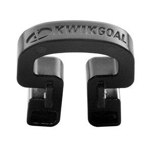 100 Kwik Lock net clips, black