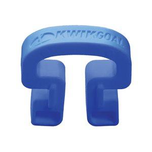 100 Kwik Lock net clips, blue