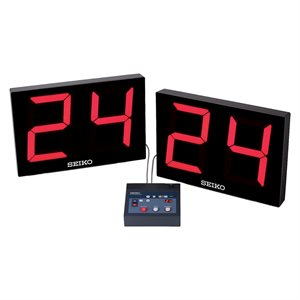 SEIKO basketball shot clocks