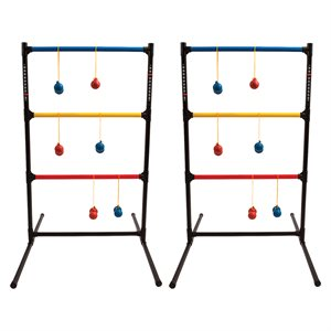 Ladder and ball game set