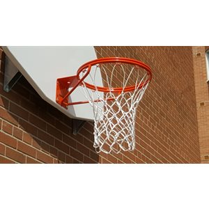 Basketball rim, double ring, front mount