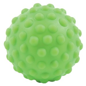 Bumpy vinyl massage ball