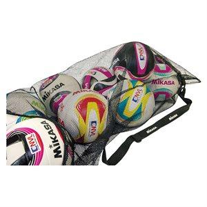 Mesh multi-sport ball bag with shoulder strap
