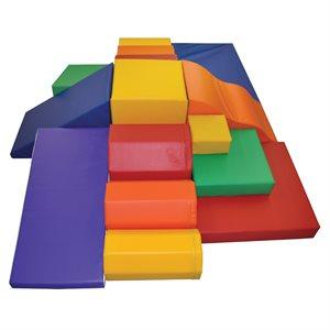 Foam module set, 12 pieces