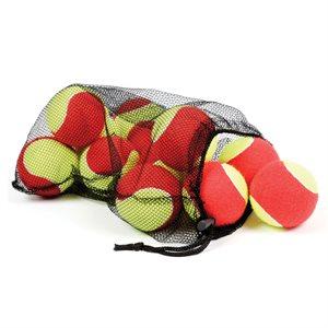 12 oversized mini-tennis balls