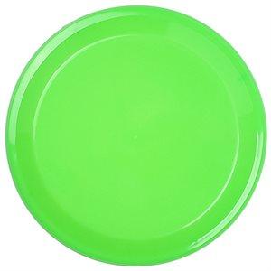 Oversized plastic frisbee