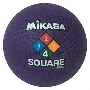 Four Square playground ball, purple