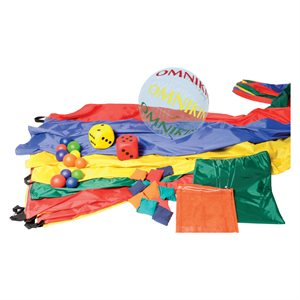 JR parachute game set