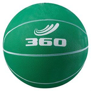 Rubber junior basketball, green