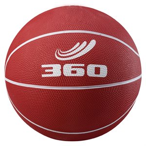 Rubber junior basketball, red