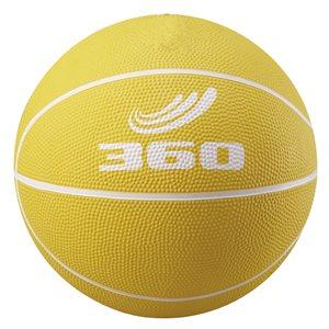 Rubber junior basketball, yellow